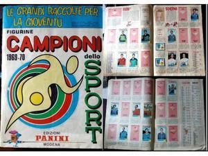 Album Panini Campioni dello Sport  - NON COMPLETO