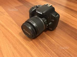 Canon EOS 450D reflex + Obiettivo Canon mm