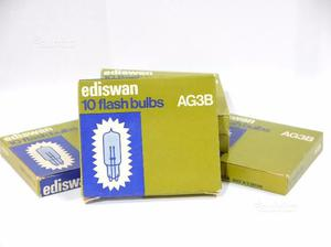 Lampade Flash aG3B set 5 confez. da 10 lampade