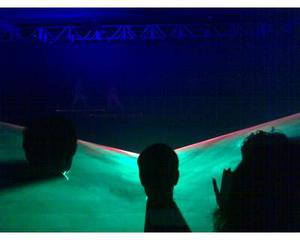Laser-effetti luce-macchine fumo/neve/bolle!