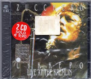 Live at the kremlin Zucchero