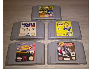 Lotto 5 videogiochi per Nintendo 64 PAL