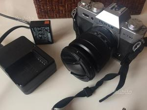 Macchina fotografica Fuji xt10 mirrorless