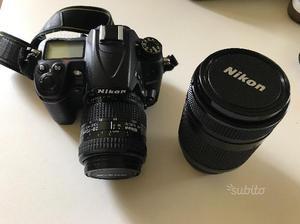 Nikon d con obiettivi nikkor af  e