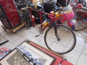 Tandem bicicletta tipo mountain bike mtb