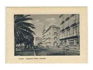 Taranto anni 50 rara - lungomare vittorio emanuele