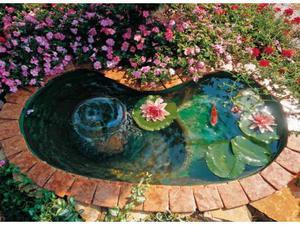 Laghetti da giardino in vetroresina posot class for Laghetto vetroresina