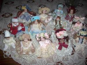 Bamboline in porcellana