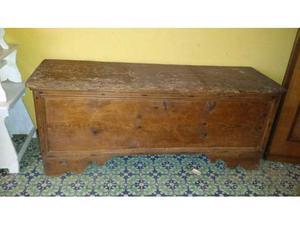 Panca antica in legno di larice posot class for Cassapanche in legno