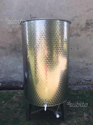 Contenitore acciaio inox LT  olio o vino