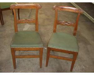 Coppia sedie antiche