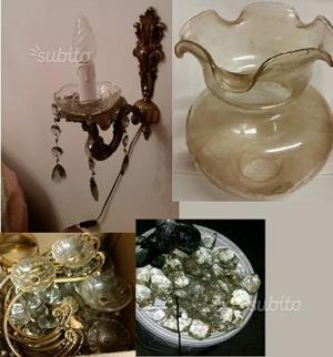 Cristallo: Abat Jour, vetro lampada