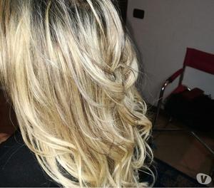 Extension capelli a soli 1.60 applicazioni inclusa