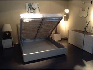 Gruppo letto + letto con box contenitore