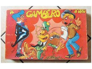 Il gambero d'oro gioco in scatola vintage gab