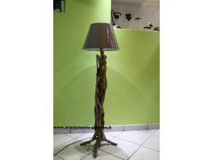 Lampada in edera radici legni mare tronchi  Posot Class