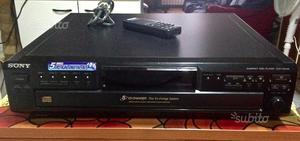 Lettore CD Sony CDP CE- dischi