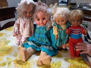 Lotto bambole vintage anni 80