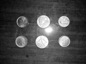 Monete della Lira - vecchia Repubblica Italiana