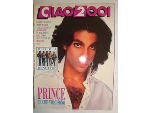 Musica Rivista CIAO  Anno  n.30 Prince di che vizio