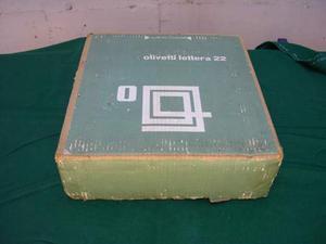 Olivetti lettera 22 contenitore originale cartone