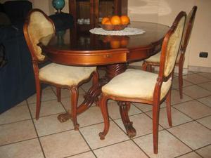 Credenza bombata 2 ante stile barocco moderno posot class - Sala da pranzo stile barocco ...