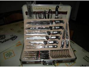 "Set coltelli cucina ""SOLINGEN"" 36 pezzi"