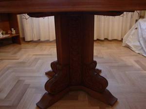Tavolo ottagonale in legno massello posot class for Tavolo rotondo legno chiaro
