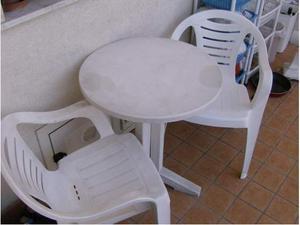 Tavolo rotondo diametro 60+4sedie