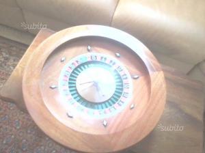 Vecchia roulette DAL NEGRO in legno