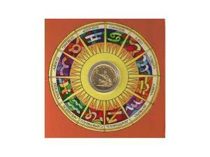 500 lire in oro 24 kt rappresenta il segno zodiacale la