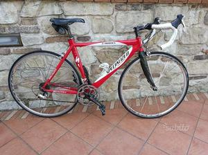 Bici da corsa specialized as-aerotec misura 52