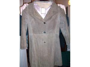 Cappotto donna in camoscio Made in England