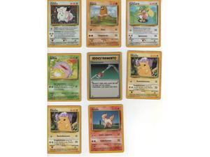 Carte Pokemon base e sue espansioni
