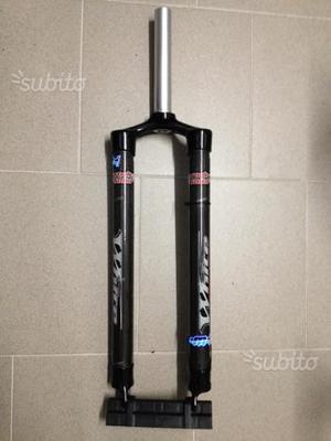 Forcella mtb 29 carbonio rigida 1 1/8 Rock Solid
