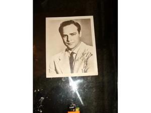 Foto autografata Marlon Brando