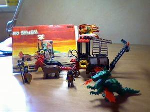 Lego system carro del dragone  raro