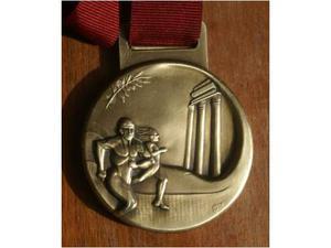 Medaglia artistica Maratona di roma