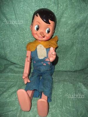 Migliorati Pinocchio vintage alto cm 55