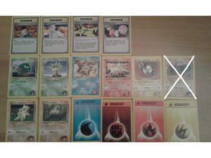 Pokémon 54 carte comuni,non comuni rare Gym Heroes Gym