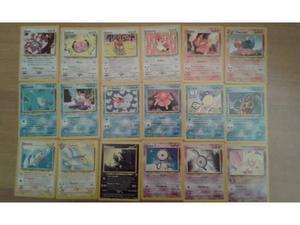 Pokémon Lotto 29 Carte comuni e non comuni NEO Revelation