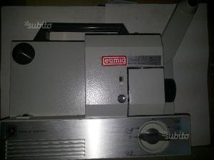 Proiettore eumig-mark501 a bobbine super 8