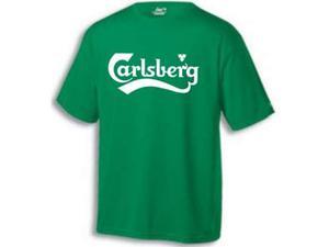 T shirt calsberg taglia M ma veste come L nuova mai usata