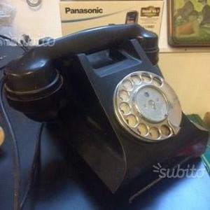 Telefono Bachelite vintage nero