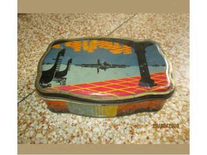 Vecchia scatola latta MASTALLI dolci LECCO Venezia vintage
