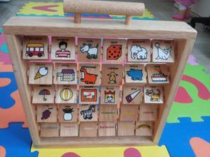 Alfabetiere in legno