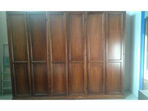 Armadio classico in legno lunghezza 305 cm