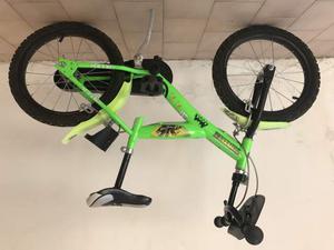 Bicicletta Ninja Turtles per Bambino 16⤝ 2 Freni-163G-NT