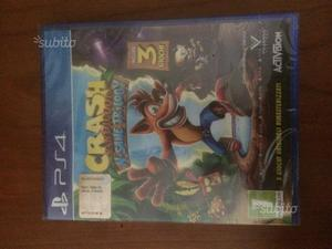 Crash Bandicoot e Fifa 17 ps4