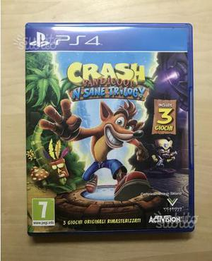 Crash bandicoot n sane trilogy ps4